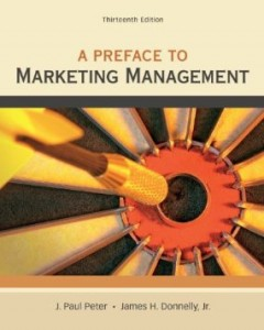 Test bank for A Preface to Marketing Management 13th Edition by Peter