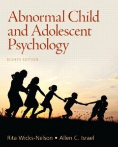 Test bank for Abnormal Child and Adolescent Psychology 8th Edition by Wicks-Nelson