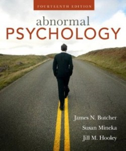 Test bank for Abnormal Psychology 14th Edition by Butcher