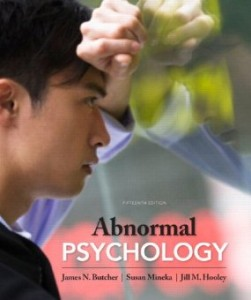 Test bank for Abnormal Psychology 15th Edition by Butcher