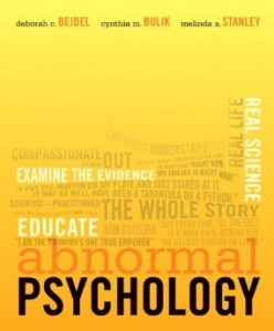 Test bank for Abnormal Psychology 1st Edition by Beidel