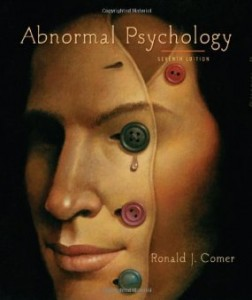 Test bank for Abnormal Psychology 7th Edition by Comer