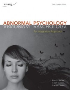 Test bank for Abnormal Psychology An Integrative Approach 3rd Canadian Edition by Barlow