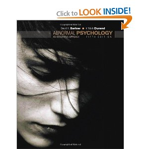 Test bank for Abnormal Psychology An Integrative Approach 5th Edition Barlow Durand