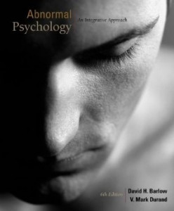 Test bank for Abnormal Psychology An Integrative Approach 6th Edition by Barlow