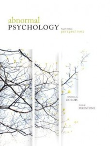 Test bank for Abnormal Psychology Perspectives 4th Canadian Edition by Dozois