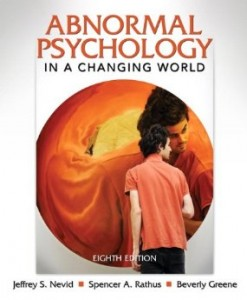 Test bank for Abnormal Psychology in a Changing World 8th Edition by Nevid