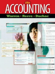 Test bank for Accounting 24th Edition by Warren and Reeve