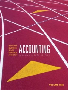 Test bank for Accounting 8th Canadian Edition by Horngren