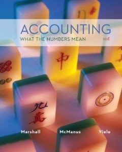 Test bank for Accounting What the Numbers Mean 10th Edition by Marshall