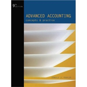 Test bank for Advanced Accounting Concepts and Practice 9th Pahler
