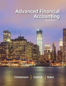 Test bank for Advanced Financial Accounting 10th Edition by Christensen