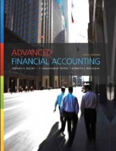 Test bank for Advanced Financial Accounting 6th Canadian Edition by Beechy