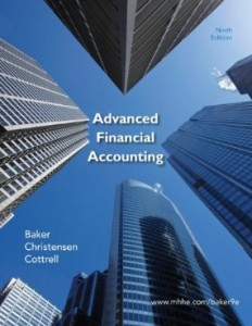 Test bank for Advanced Financial Accounting 9th edition by Baker