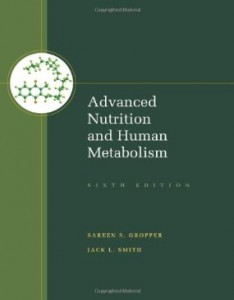 Test bank for Advanced Nutrition and Human Metabolism 6th Edition by Gropper