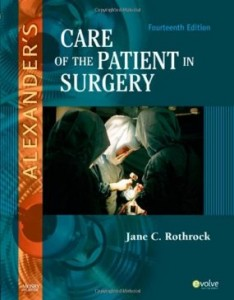 Test bank for Alexanders Care of the Patient in Surgery 14th Edition by Rothrock