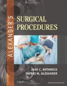 Test bank for Alexanders Surgical Procedures 1st Edition by Rothrock