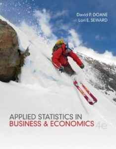 Test bank for Applied Statistics in Business and Economics 4th Edition by Doane