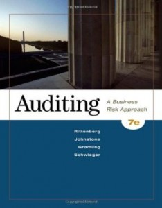 Test bank for Auditing A Business Risk Approach 7th Edition by Rittenberg
