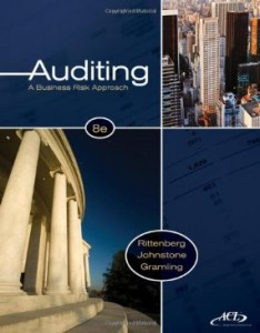 Test bank for Auditing A Business Risk Approach 8th Edition by Rittenburg