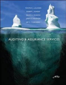 Test bank for Auditing and Assurance Services 5th Edition by Louwers