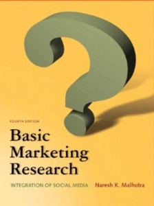 Test bank for Basic Marketing Research 4th Edition by Malhotra