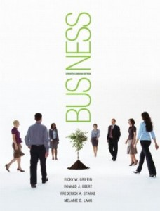 Test bank for Business 7th Canadian Edition by Griffin