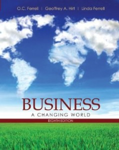 Test bank for Business A Changing World 8th Edition by Ferrell