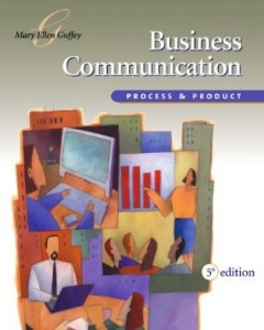 Test bank for Business Communication Process and Product 5th Edition by Guffey