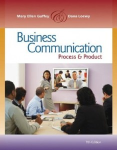 Test bank for Business Communication Process and Product 7th Edition by Guffey