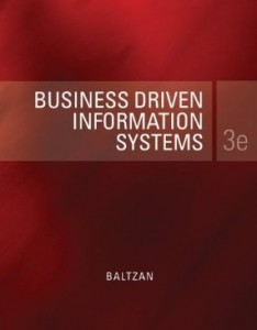 Test bank for Business Driven Information Systems 3rd Edition by Baltzan