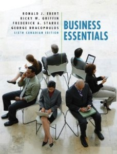 Test bank for Business Essentials 6th Canadian Edition by Ebert