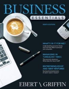 Test bank for Business Essentials 9th Edition by Ebert