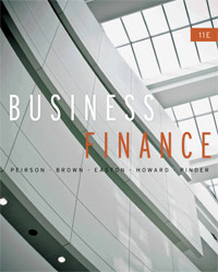 Test bank for Business Finance 11th Edition by Peirson