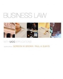 Test bank for Business Law 12th Edition by Brown
