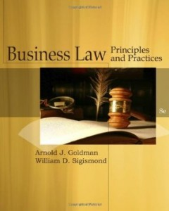 Test bank for Business Law 8th Edition by Goldman