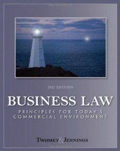 Test bank for Business Law Principles for Todays Commercial Environment 3rd Edition by Twomey