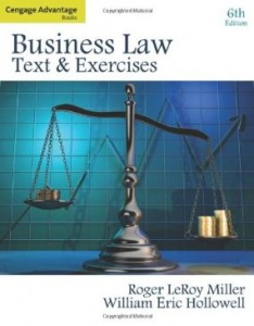 Test bank for Business Law Text and Exercises 6th Edition by Miller