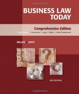 Test bank for Business Law Today 8th Edition by Miller