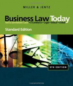 Test bank for Business Law Today 9th Edition by Miller