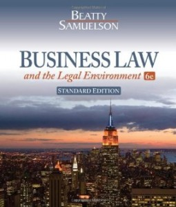 Test bank for Business Law and the Legal Environment 6th Edition by Beatty