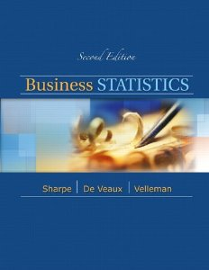 Test bank for Business Statistics A First Course 2nd Edition by Sharpe
