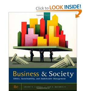 Test bank for Business and Society Ethics Sustainability and Stakeholder Management 8th Carroll