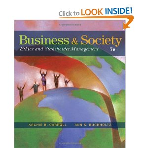 Test bank for Business and Society Ethics and Stakeholder Management 7th Carroll