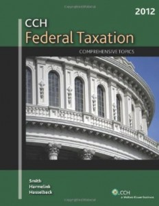 Test bank for CCH Federal Taxation Comprehensive Topics 2012 by Smith