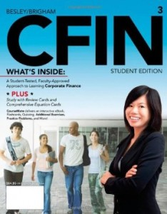 Test bank for CFIN 3 3rd Edition by Besley