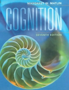 Test bank for Cognition 7th Edition by Matlin
