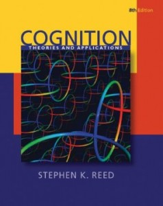 Test bank for Cognition Theory and Applications 8th Edition by Reed