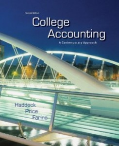 Test bank for College Accounting A Contemporary Approach 2nd Edition by Haddock