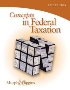 Test bank for Concepts in Federal Taxation 2012 19th Edition by Murphy